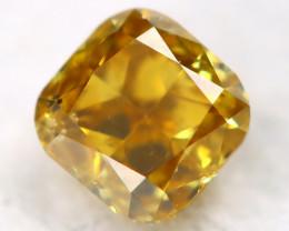 Yellow Diamond 0.20Ct Untreated Genuine Fancy Diamond C0213