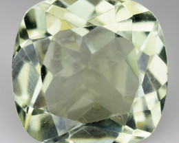 6.27 CT PRASOILITE TOP CLASS CUT GEMSTONE P9