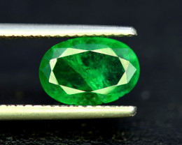 Emerald, 3.00 Carats Oval Cut Natural Zambian Emerald Gemstone
