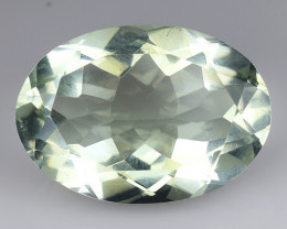 5.06 CT PRASOILITE TOP CLASS CUT GEMSTONE P30