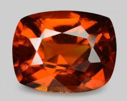 *NoReserve*Hessonite Garnet 4.64 Cts Unheated Orange Red Gemstone