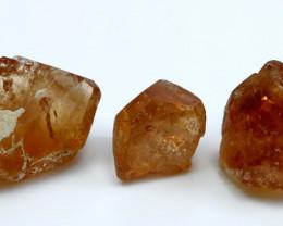 NR!! 110.25 CT Natural - Unheated Orange Brown Topaz Rough Lot