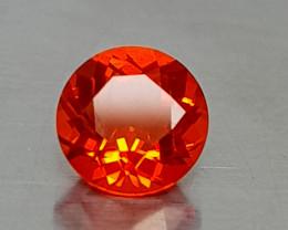 0.35Crt Mexican Faceted Opal Natural Gemstones JI64