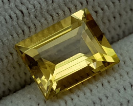 2CT HELIODOR BERYL  BEST QUALITY GEMSTONE IIGC014