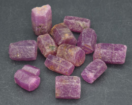 Natural RubyCrystal Type Rough 101.5 Cts Lot