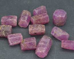 Natural Ruby Crystal Type Rough 103 Cts Lot