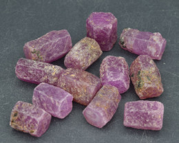 Natural RubyCrystal Type Rough 105.5 Cts Lot