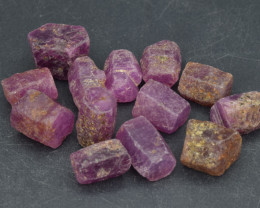 Natural RubyCrystal Type Rough 105 Cts Lot