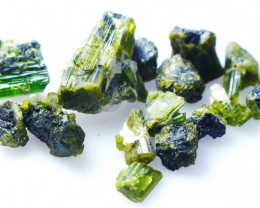 NR!! 101.25 CT Natural - Unheated Green Tourmaline Gemstone