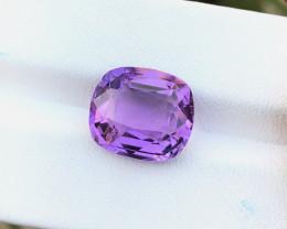 6.20 Ct Natural Purple TOP Quality  Transparent Amethyst Gemstone