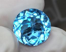 9.70 CT GORGEOUS SWISS BLUE TOPAZ