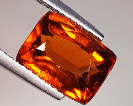 4.16 ct Top Quality Gem Rectangle Cut Natural Hessonite Garnet