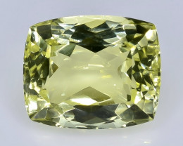 6.58 Crt Natural  Lemon Quartz Faceted Gemstone.( AB 7)