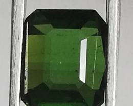 Tourmaline, 2.05ct, beautiful dark 'wood' green!