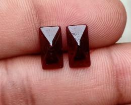 Fancy Cut Natural Garnet Pair Natural+Untreated VA3457