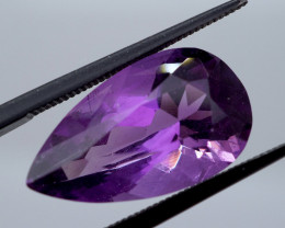 7.09 CT Unheated Rich Purple Amethyst (Uruguay)
