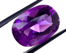 12.86 CT Unheated ROYAL DEEP RUSSIAN Purple Amethyst (Russia)