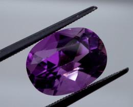 5.74 CT Unheated Rich Purple Amethyst (Uruguay)