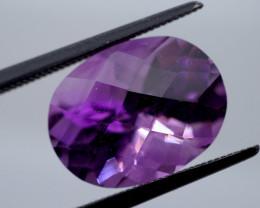 7.02 CT Unheated Rich Purple Amethyst (Uruguay)