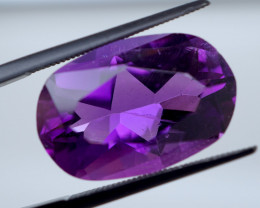 12.78 CT Unheated Vivid Purple Amethyst (Russia)