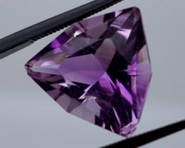 12.78 CT Unheated Intense Purple Amethyst (Uruguay)