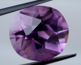 11.76 CT Unheated Intense Purple Amethyst (Uruguay)