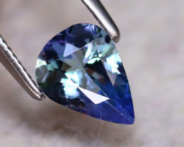 Tanzanite 0.83Ct Natural VVS Purplish Blue Tanzanite DF0420/D3