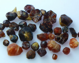 50.80 Ct Natural ~ Unheted Brown Garnet Rough Lot