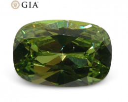 0.95ct Cushion Demantoid Garnet GIA Certified