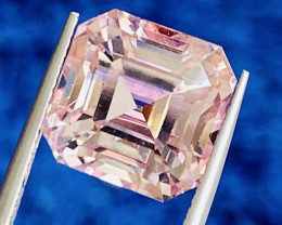 12.98 ct padparadscha color Tourmaline with fine cutting Gemstone