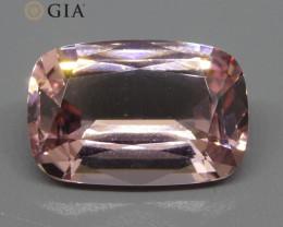 10.5ct Cushion Morganite GIA Certified