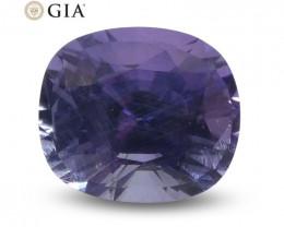 1.56ct Oval Color Change Sapphire GIA Certified Sri Lanka Unheated