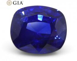 1.03ct Cushion Blue Sapphire GIA Certified Madagascar