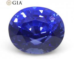 1.09ct Oval Blue Sapphire GIA Certified Sri Lanka