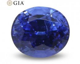 1.15ct Oval Blue Sapphire GIA Certified Sri Lanka