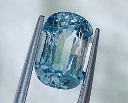 2.3 ct Aquamarin color Tourmaline With fine cutting  Gemstone