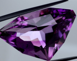31.71 CT Unheated Rich Purple Amethyst (Uruguay)