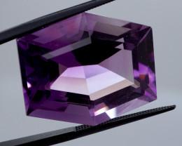 33.42 CT Unheated Intense Purple Amethyst (Uruguay)