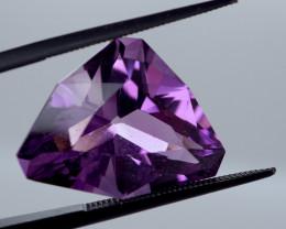 12.67 CT Unheated Rich Purple Amethyst (Uruguay)