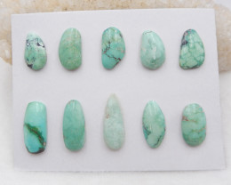 81.5cts Lucky Turquoise ,Handmade Gemstone ,Turquoise Cabochons H313