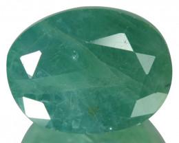 ~RARE~ 6.91 Natural Bluish Green Grandidierite Oval Cut Madagascar