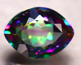 Mystic Topaz 9.13Ct Natural IF Mystic Rainbow Topaz E0511/A46