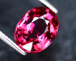 Rhodolite 2.04Ct Natural Purplish Red Rhodolite Garnet EF0518/A5