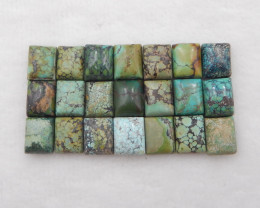 69.5cts Lucky Turquoise ,Handmade Gemstone ,Turquoise Cabochons ,Lucky Ston