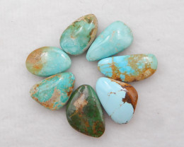 41cts Lucky Turquoise ,Handmade Gemstone ,Turquoise Cabochons ,Lucky Stone