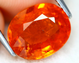 Mandarin Spessartite 4.05Ct Oval Cut Natural Spessartite Garnet A0316