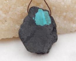 69cts Turquoise ,Handmade Gemstone ,Turquoise Pendant H332