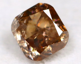 Champagne Diamond 0.39Ct Untreated Genuine Fancy Diamond C0302