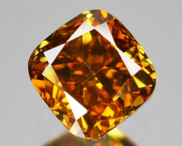 0.20 Cts Untreated Fancy Orange Yellow Color Natural Loose Diamond