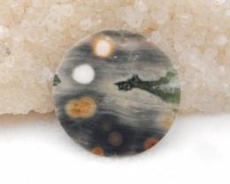 21cts Ocean Jasper Pendant ,Natural Ocean Jasper ,Heart Pendant ,Wholesale